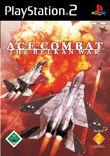 Ace Combat Zero: The Belkan War (Sony PlayStation 2, 2006, DVD-Box)