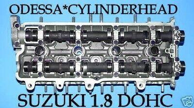 SUZUKI SIDEKICK ESTEEM WAGON 1.8 DOHC 16 VALVE CYLINDER HEAD NO CORE REBUILT