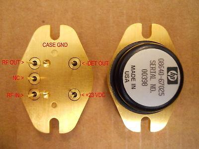 Keysight Agilent HP 08640-67025 RF Power Amplifier for 8640B 8640A 08640-67002