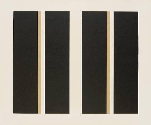 JOHN MCLAUGHLIN Signed 1963 Original Color Lithograph, Edition of 16 - RARE