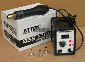 New-ATTEN-858D-858D-SMD-Hot-Rework-Station-AT-Air-Solder-Blower