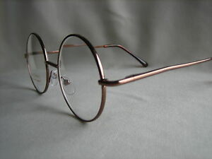 a7b43fd318b31 Image is loading ROUND-Metal-FRAMED-READING-GLASSES-spring-hinged-temples-