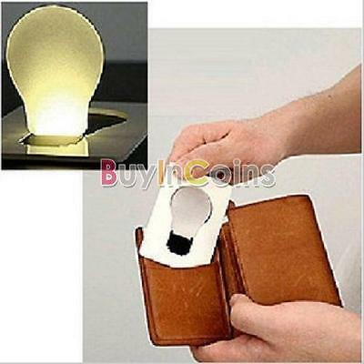 Portable Pocket LED Card Light Lamp Put in Purse Wallet BA