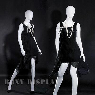 Fiberglass Female Display Mannequin Manequin Egg Head Dress Form MZ-LISA12EG
