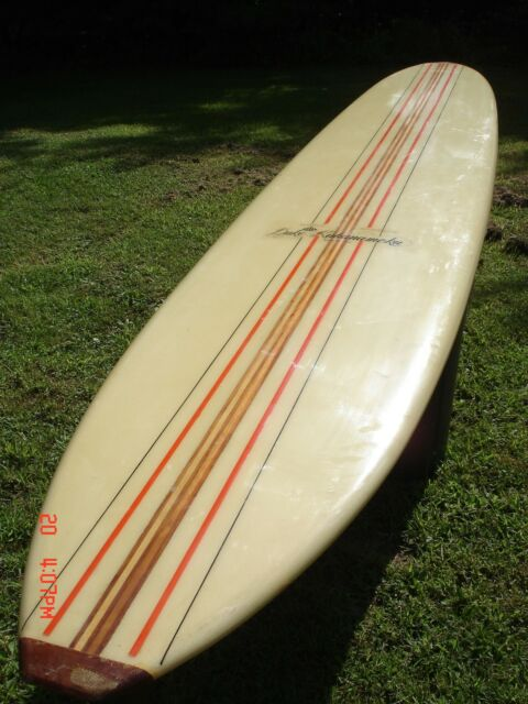 1967 Duke Kahanamoku Vintage Classic Surfboard  Serial # 1132  Measures 9' 9""