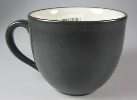 Noritake Colorwave Graphite Set of 4 Cups NIB