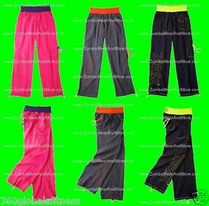 Zumba-Fitness-Logo-Cargo-Pants-II-NEW-Ships-fast-In-3-colors-Looks-great-on-all