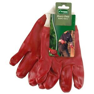 Gardening-DIY-Builders-Work-Heavy-Duty-DIY-Grip-Rubber-WaterProof-Gloves-M-L
