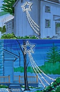 shooting star christmas holiday indoor outdoor lights set