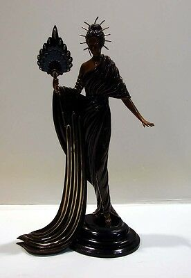 "Erte Bronze Sculpture ""APHRODITE""  1986 woman Renaissance Make an Offer!"