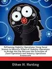 Reframing Stability Operations: Using Social Science to Identify Pillars of Stability Operations to Bridge the Gap Between the Principles of Joint Operations and Stability Operations Framework by Ethan H Harding (Paperback / softback, 2012)