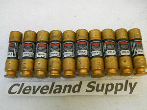 BUSSMANN-FRN-R-6-FUSETRON-FUSES-6A-250V-SET-OF-10-NEW-CONDITION-NO-BOX
