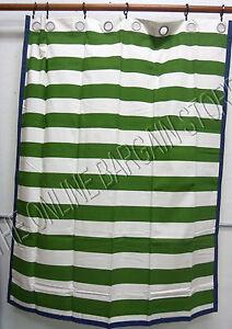Pottery Barn Kids Rugby Stripe Grommet Window Drapes