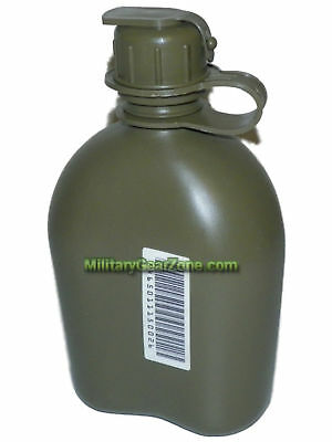 New Olive Drab M1 Canteen NBC Cap 1 Quart Hydration US