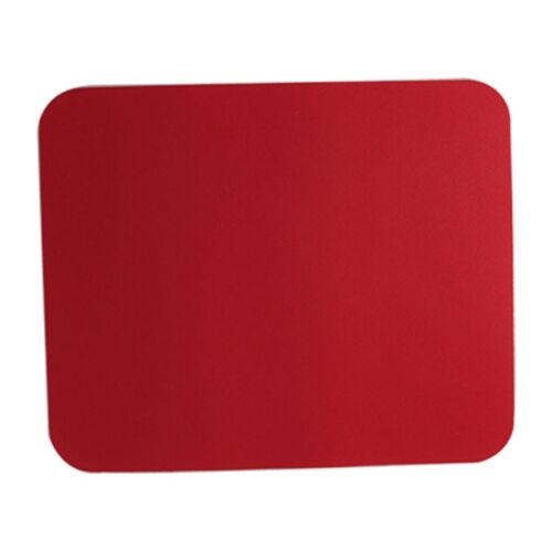 High Density Surface Super Thin Mouse Pad Dark Red