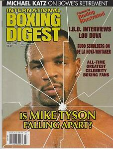 INTERNATIONAL-BOXING-DIGEST-MAGAZINE-MIKE-TYSON-BOXING-HOFer-COVER-JULY-1997