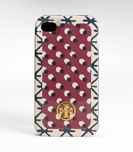 NIB-TORY-BURCH-IPHONE-4-4S-CASE-SHORE-KHAKI-BLUE-AUTHENTIC