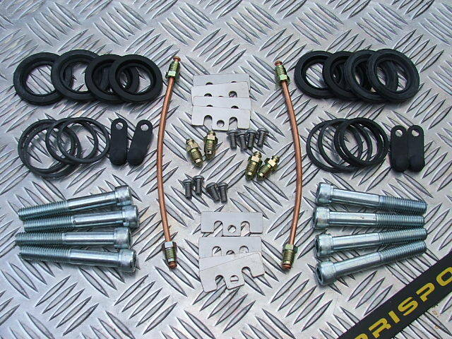 Fiat Turbo Coupe Brembo Caliper rebuild kit complete with seal kit - 2 calipers
