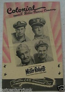 Souvenir-Program-For-Mister-Roberts-May-1950-Colonial-Theatre-Boston