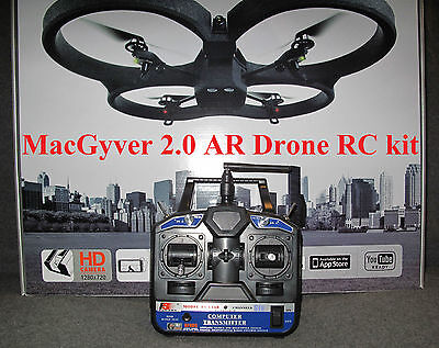 AR Drone 2.2, MacGyver RC kit, 2, power edition