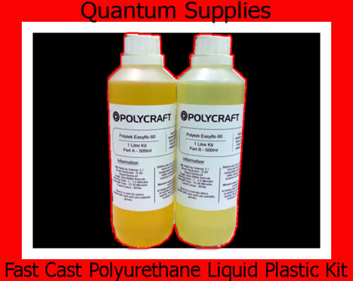 EasyFlo 60 - 1 Litre Fast Cast Polyurethane Liquid Plastic Kit