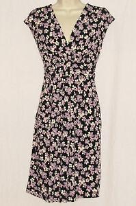 NEW-NWT-MOTHERHOOD-MATERNITY-Floral-Surplice-Dress-MEDIUM-Easter-Sundress-8-10