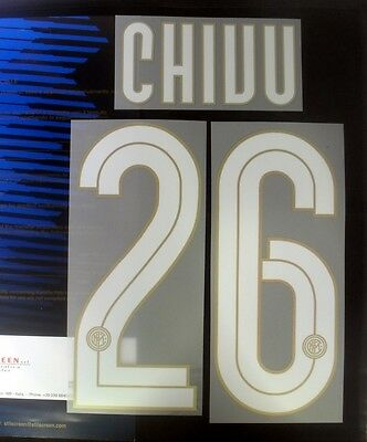 Inter Milan Chivu 26 Centenary 2008/09 Football Shirt Name Set Home
