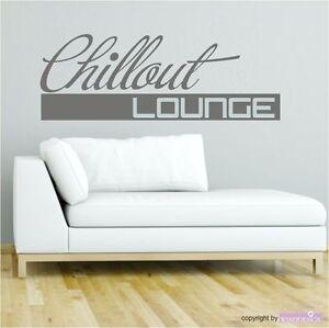 Wandtattoo chillout lounge relax chillen lounge - Wandtattoo relax ...