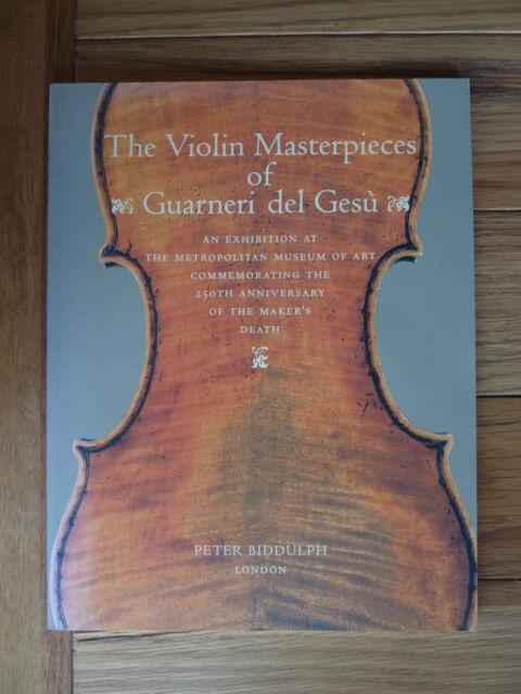 """""""The Violin Masterpieces of Guarneri del Gesu"""" 250th Anniversary Exhibition Book"""