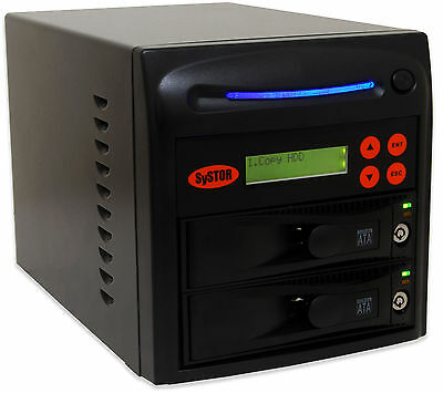 SySTOR 1:1 SATA Hard Disk Drive (HDD/SSD) Duplicator/Sanitizer Wipe/Data Copy
