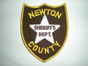 NEWTON COUNTY, TEXAS SHERIFF'S DEPARTMENT PATCH | eBay