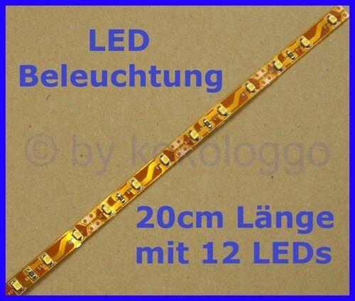 S332 - 1 Stück LED Hausbeleuchtung 20cm WARMWEIß für z.B. Bahnsteige Stellwerke