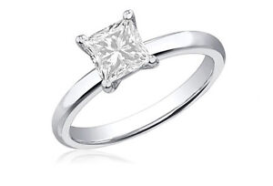3-4-Ct-Certified-Princess-Cut-Diamond-14K-White-Gold-Solitaire-Engagement-Ring