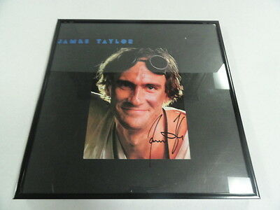 "Entertainment Memorabilia James Taylor Signed Framed ""dad Loves His Work"" Lp Album Legend Rare Fixing Prices According To Quality Of Products"