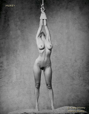 Erotic Art Nude signed b&w photo by Craig Morey: Natalie 81099.10