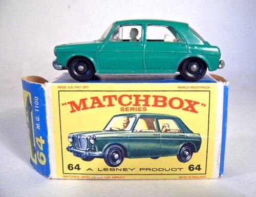 MATCHBOX RW 64b mg 100 verde come nuovo in  e2  BOX