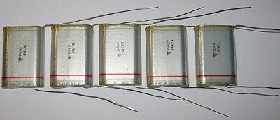5 X High Voltage Film Capacitors - 4 kV - .003 uF - 3000pF 4kV Film Capacitor
