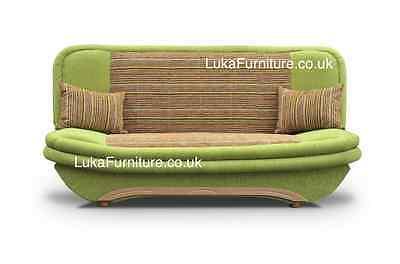 Click Clack Sofa Bed Denis with Storage Futon -  Polska Wersalka- 2 MAN DELIVERY