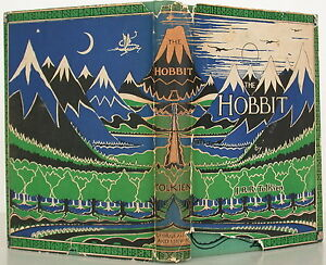 J-R-R-TOLKIEN-The-Hobbit-FIRST-EDITION-WITH-DUST-JACKET