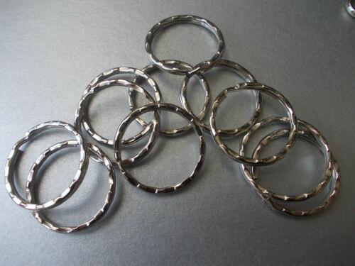 20 X SILVER COLOUR KEYRING CLASPS SWIVEL,RING OR SNAP CLASP CHOOSE STYLE L43