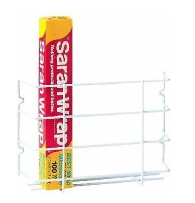 Door Or Wall Wrap Rack, For Storage Of Rolls Or Plastic Wrap Behind Door Or Wall