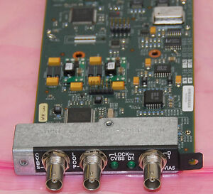 Divicom MV50 MV45 MV40 Harmonic Video Input Adapter IV Module 095-0115-001