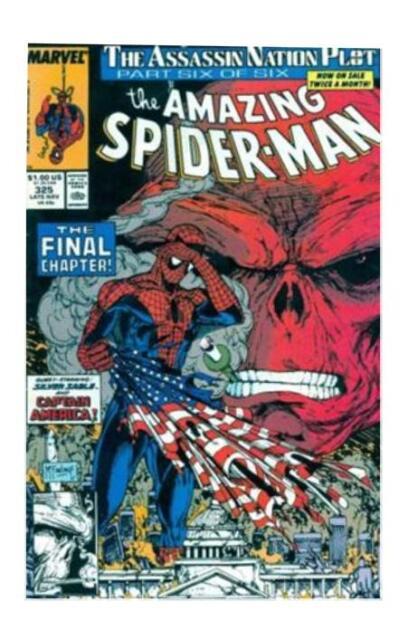 The Amazing Spider-Man #325 (Nov 1989, Marvel)