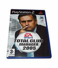 Total Club Manager 2005 (Sony PlayStation 2, 2004)