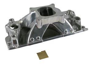 Small-Block-CHEVY-350-High-Rise-Single-Plane-Polished-Aluminum-Intake-Manifold