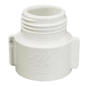Pool spa fish tank drain adapter 3 4 pvc to garden hose bib fitting 413 4410 ebay for How to drain a pool with a garden hose
