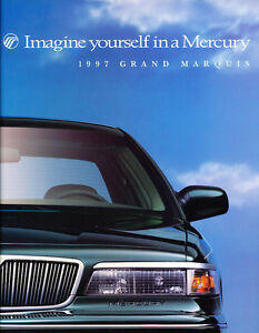 1997-Mercury-Grand-Marquis-14-page-Original-Sales-Brochure-Catalog