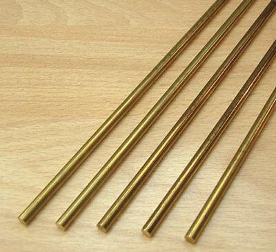 "Brass Round Bar Rod 1"" dia x approx 150mm long"