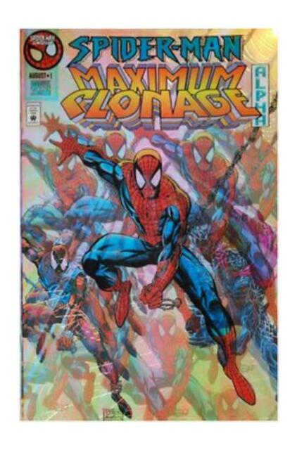 Spider-Man: Maximum Clonage Alpha #1 (Aug 1995, Marvel)