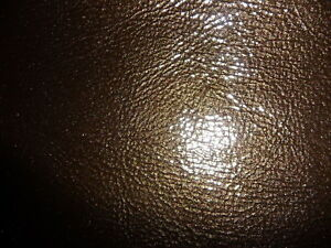 """Leather 8""""x10"""" Brown Wrinkled Patent PIGSKIN 2.25 oz / .9mm PeggySueAlso™"""